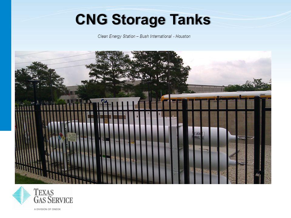 CNG Storage TanksCNG Storage Tanks Clean Energy Station – Bush International - Houston