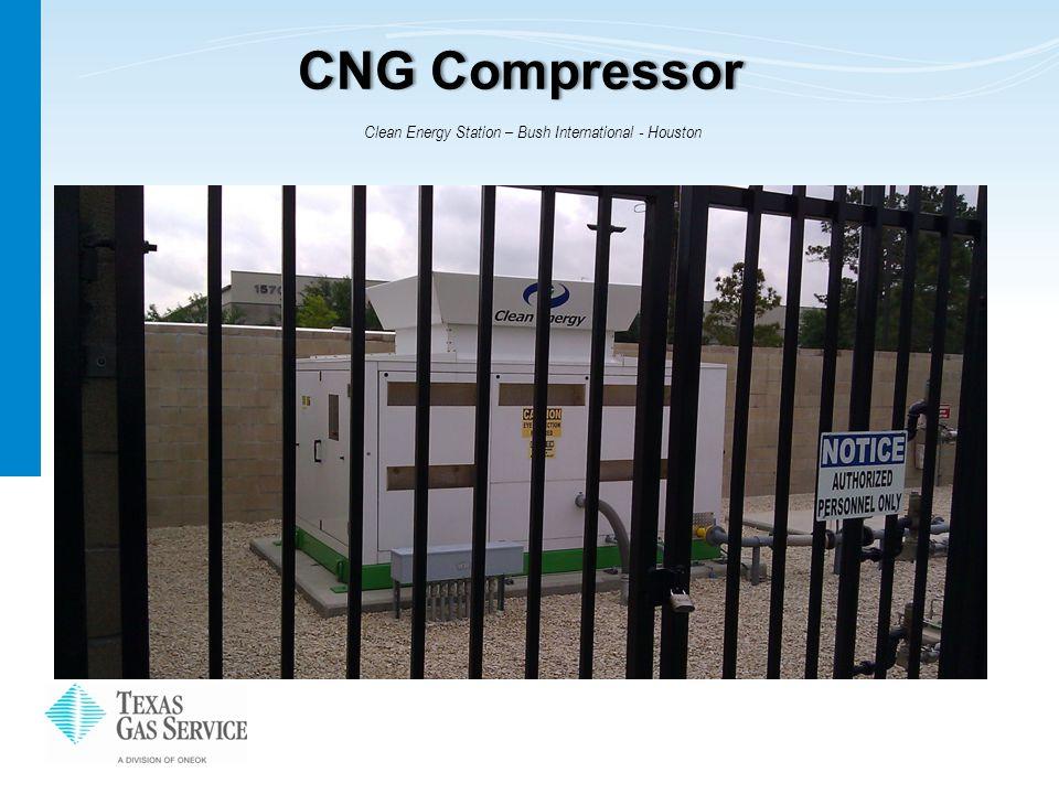 CNG CompressorCNG Compressor Clean Energy Station – Bush International - Houston