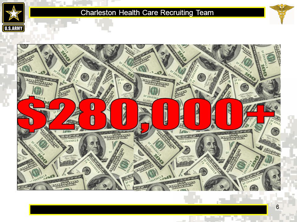 Charleston Health Care Recruiting Team 17 Eligibility  Applicant must be a U.S.