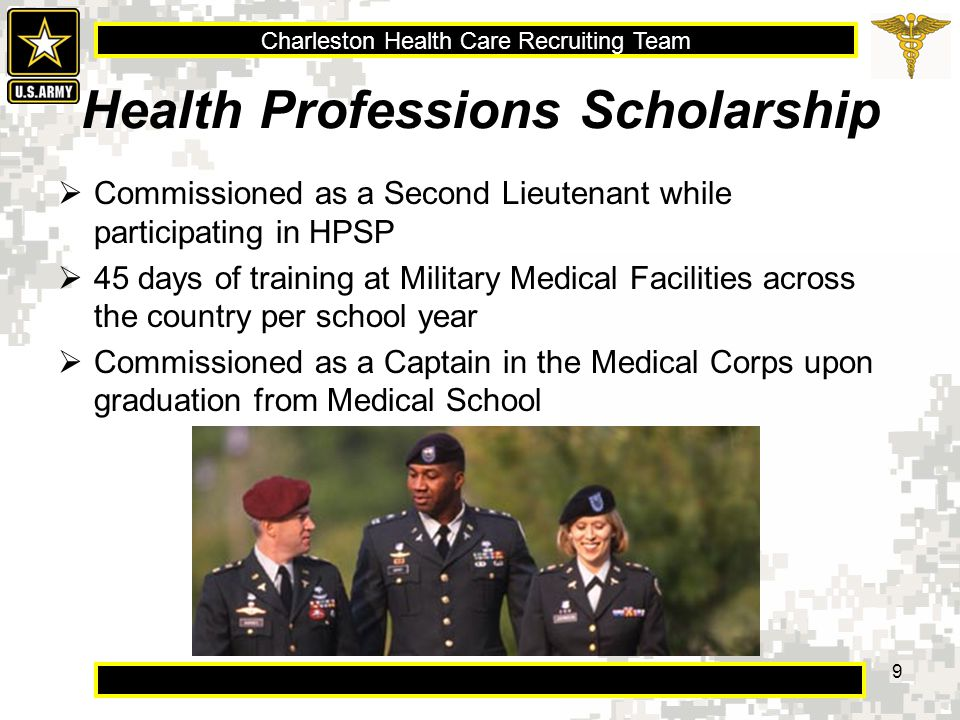 Charleston Health Care Recruiting Team Is this for you? 20 Selfless Service Honor