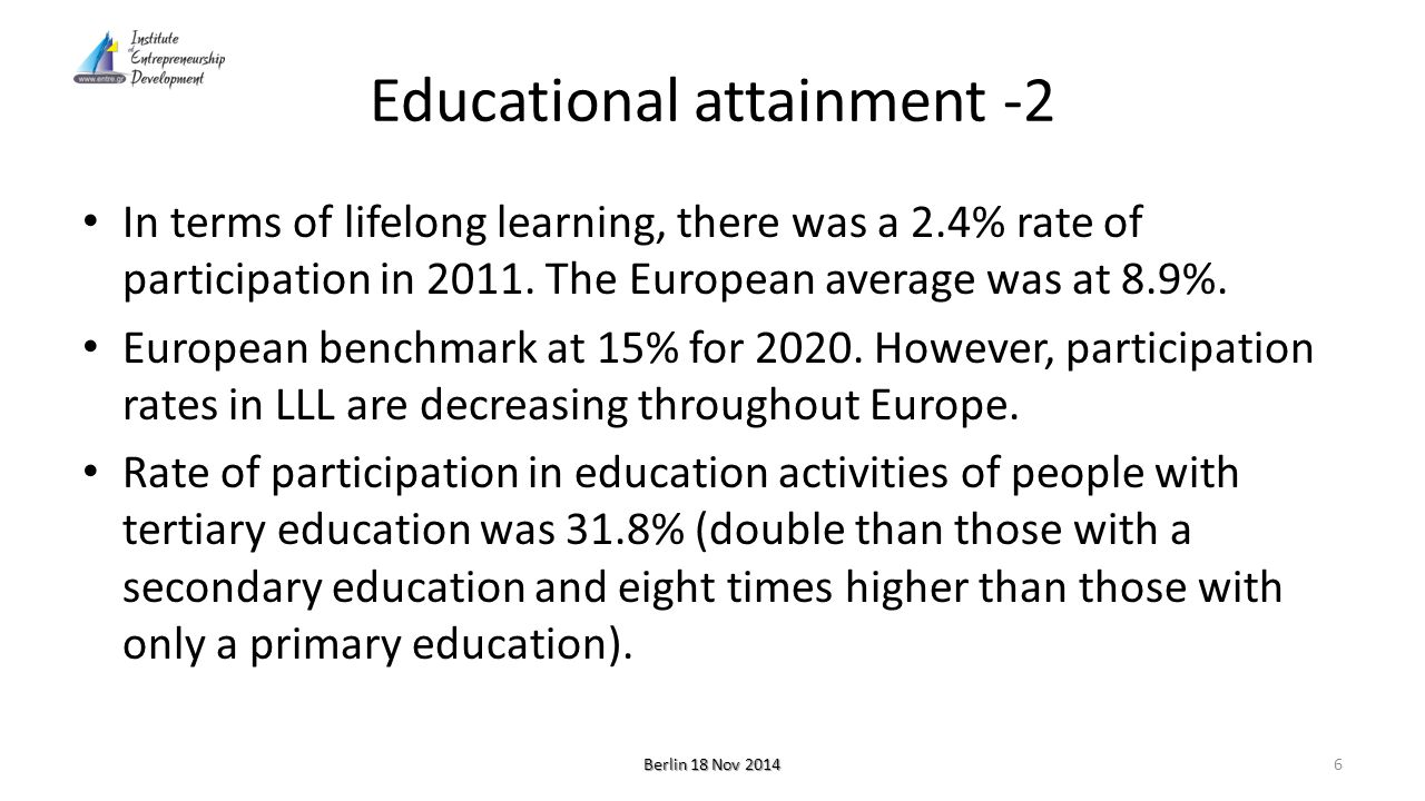 Vocational and training system -1 The Greek public has always shown a great demand for general education and university degrees.