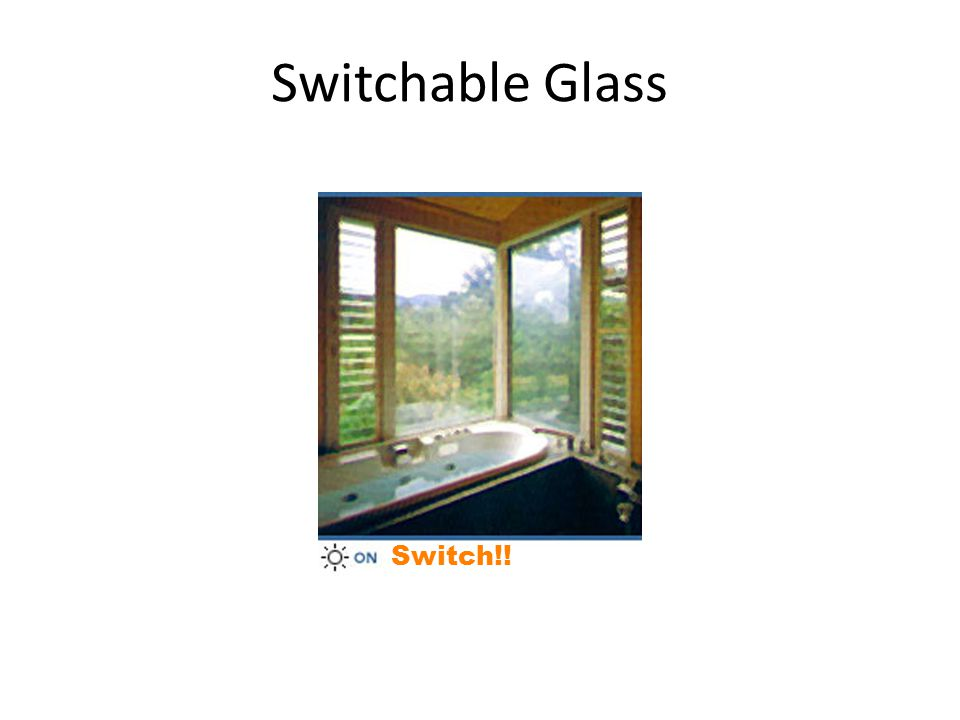 Switchable Glass Switch!!
