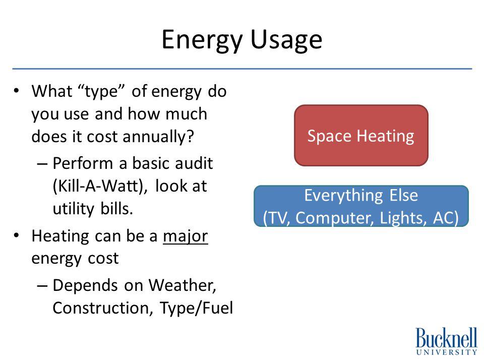 Non-Solar Energy Solutions