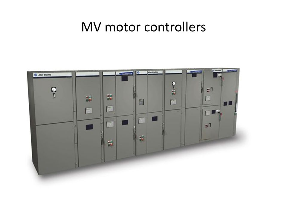 MV motor controllers