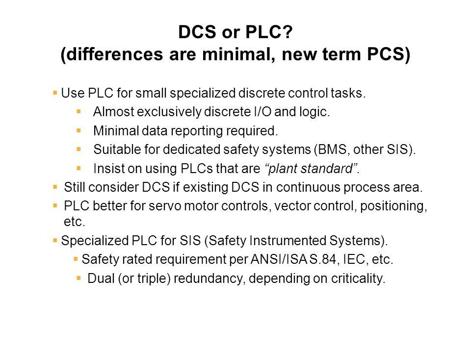 DCS or PLC.