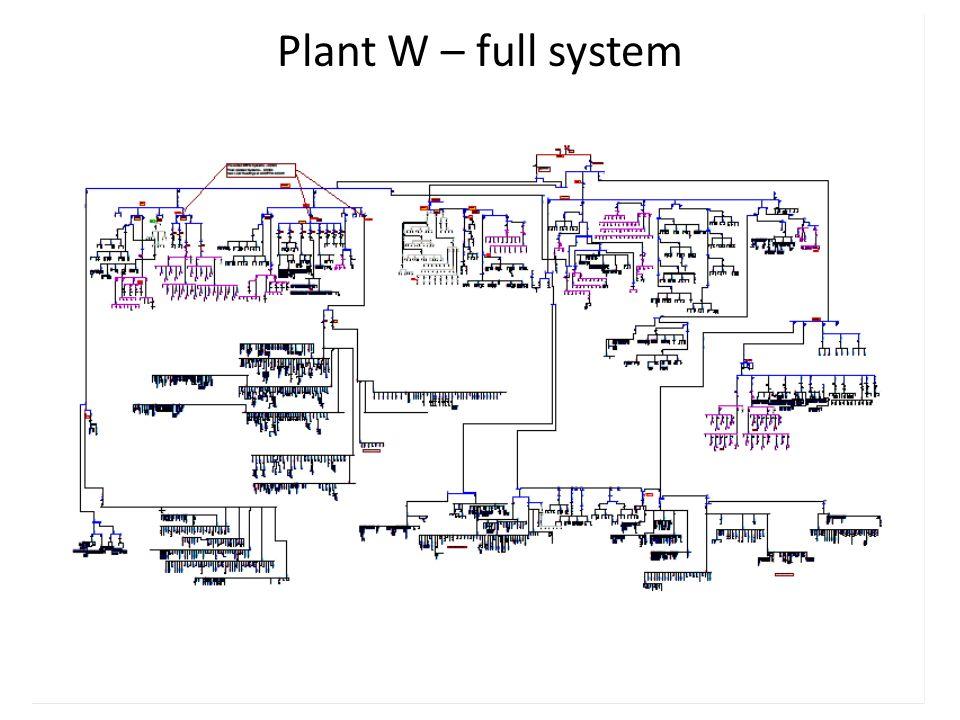 Plant W – full system