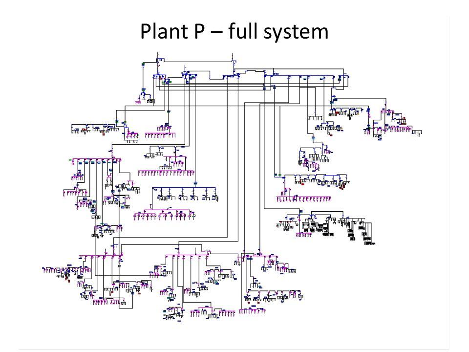 Plant P – full system