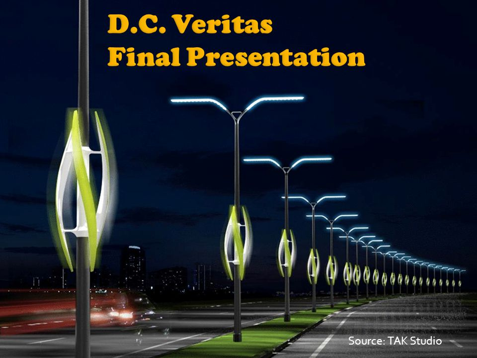 Retrofit wind turbine for street and highway lamps.