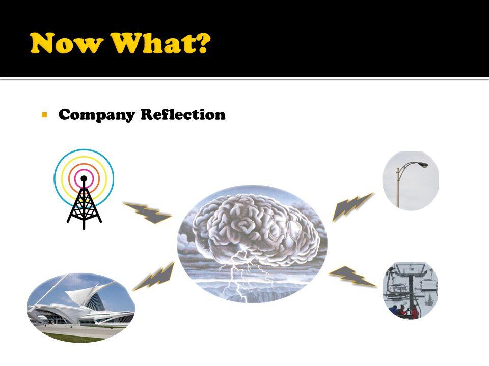 Company Reflection