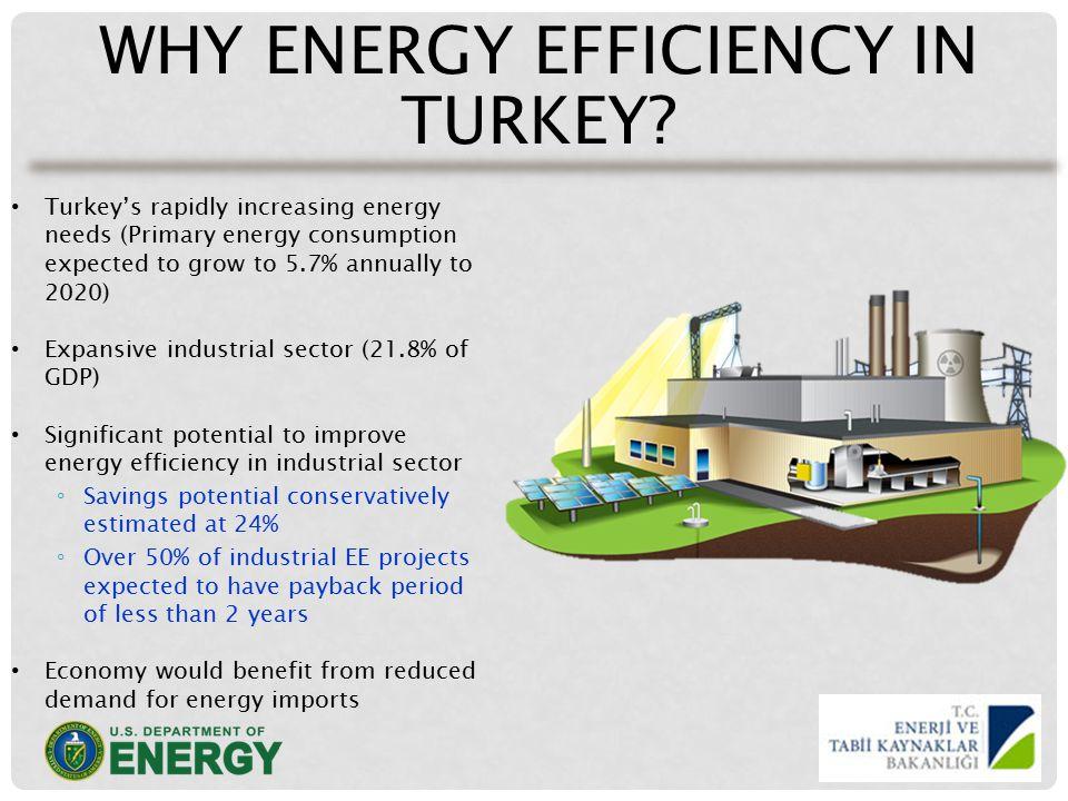 WHY ENERGY EFFICIENCY IN TURKEY.
