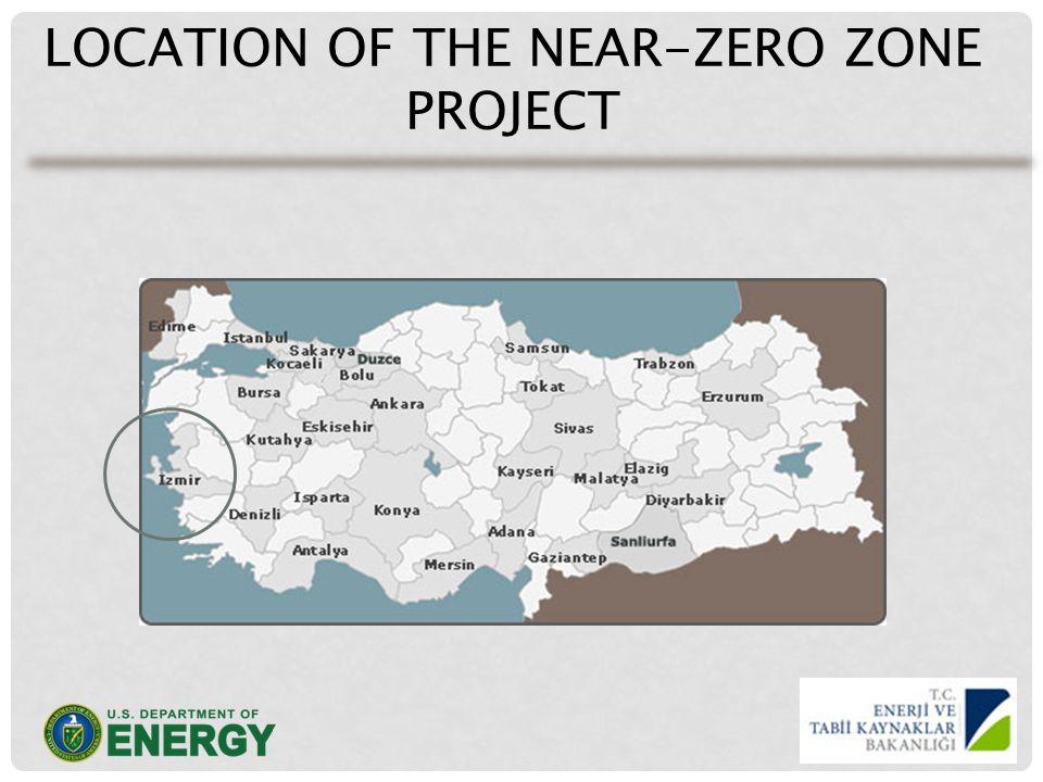 LOCATION OF THE NEAR-ZERO ZONE PROJECT