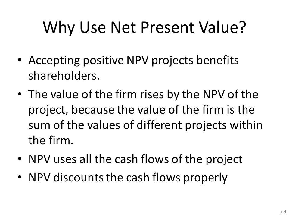 5-5 Calculating NPV with Financial Calculator What is the NPV of the following investment.