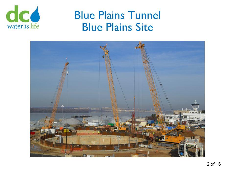 Blue Plains Tunnel Blue Plains Site 2 of 16