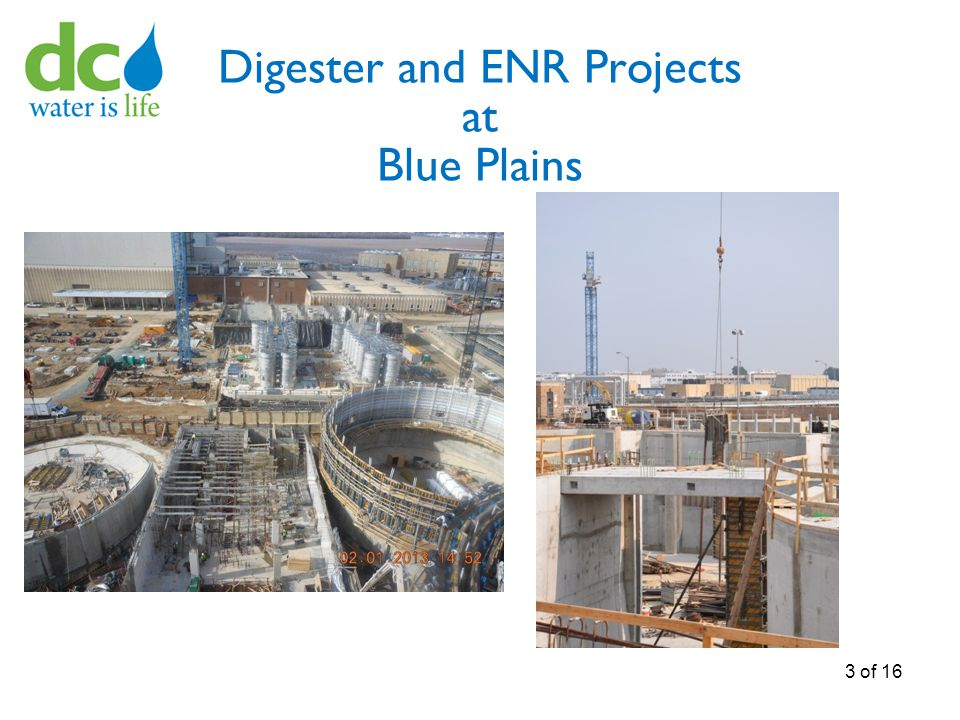 Digester and ENR Projects at Blue Plains 3 of 16