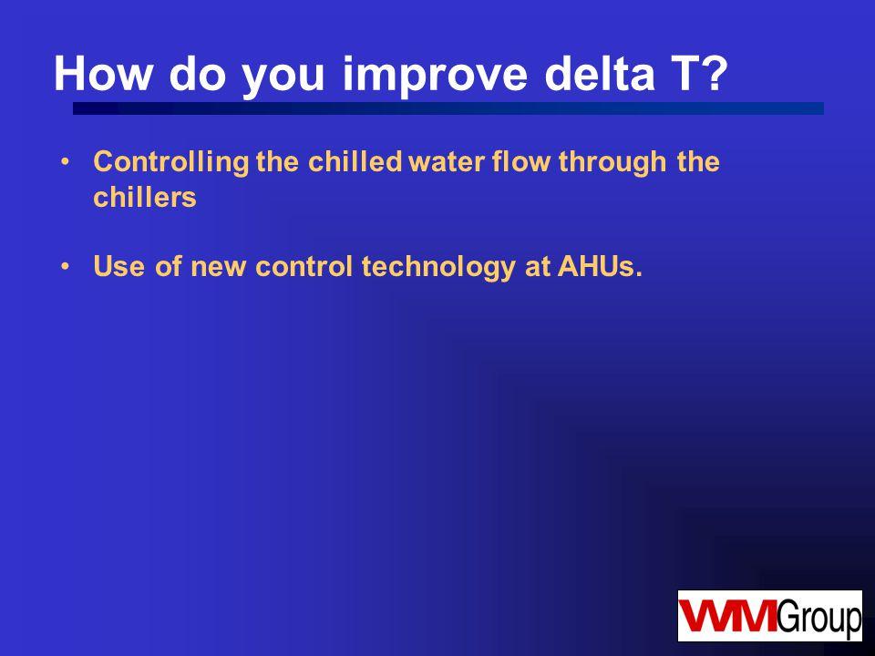How do you improve delta T.
