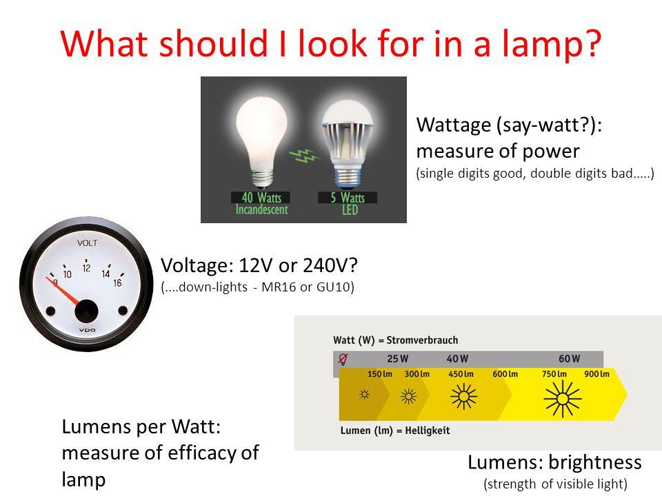 Voltage: 12V or 240V.