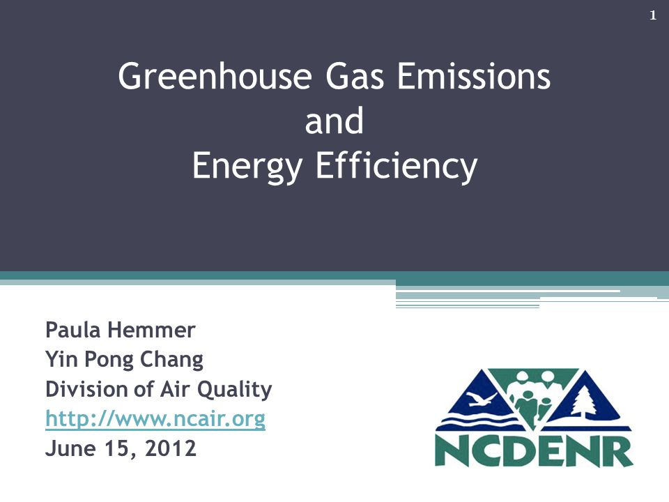 Purpose of Presentation Greenhouse Gas Basics Co-benefits of energy efficiency reducing GHG saving money Opportunity for low cost energy assessment GHG Reporting 2