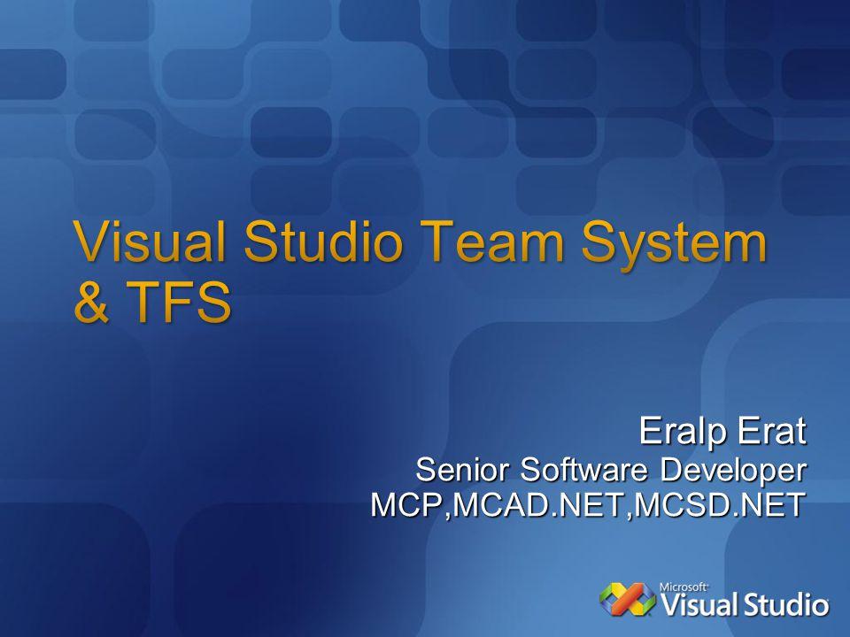 Eralp Erat Senior Software Developer MCP,MCAD.NET,MCSD.NET