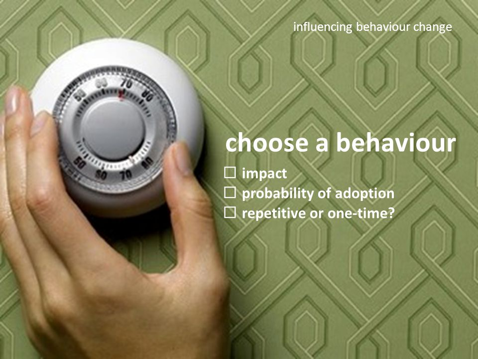 Climate Smart Training Session #2 choose a behaviour  impact  probability of adoption  repetitive or one-time.
