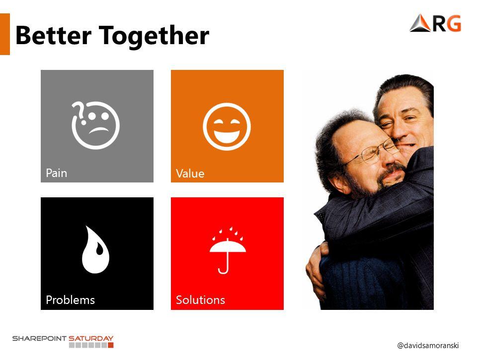 @davidsamoranski Better Together Pain Value ProblemsSolutions