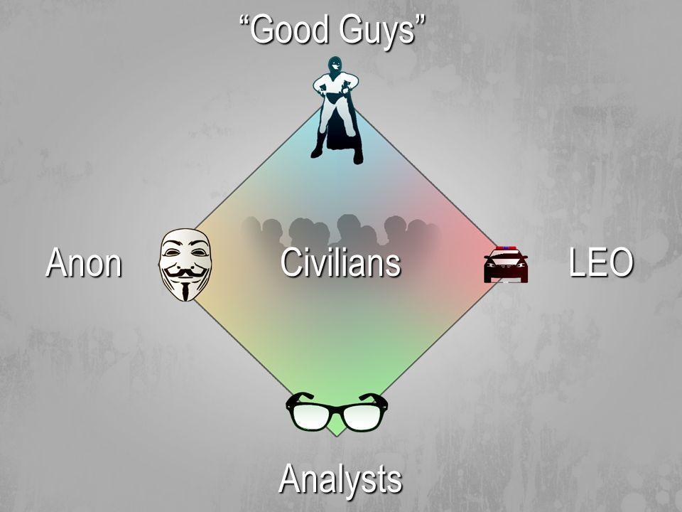 Anon Good Guys Analysts CiviliansLEO