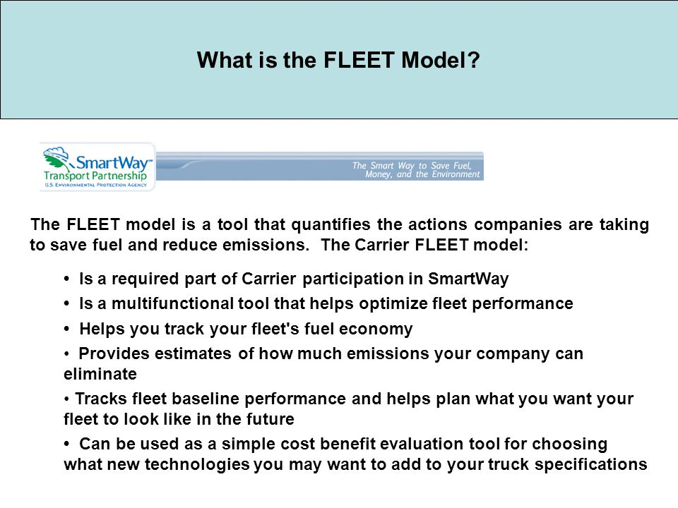 What is the FLEET Model.