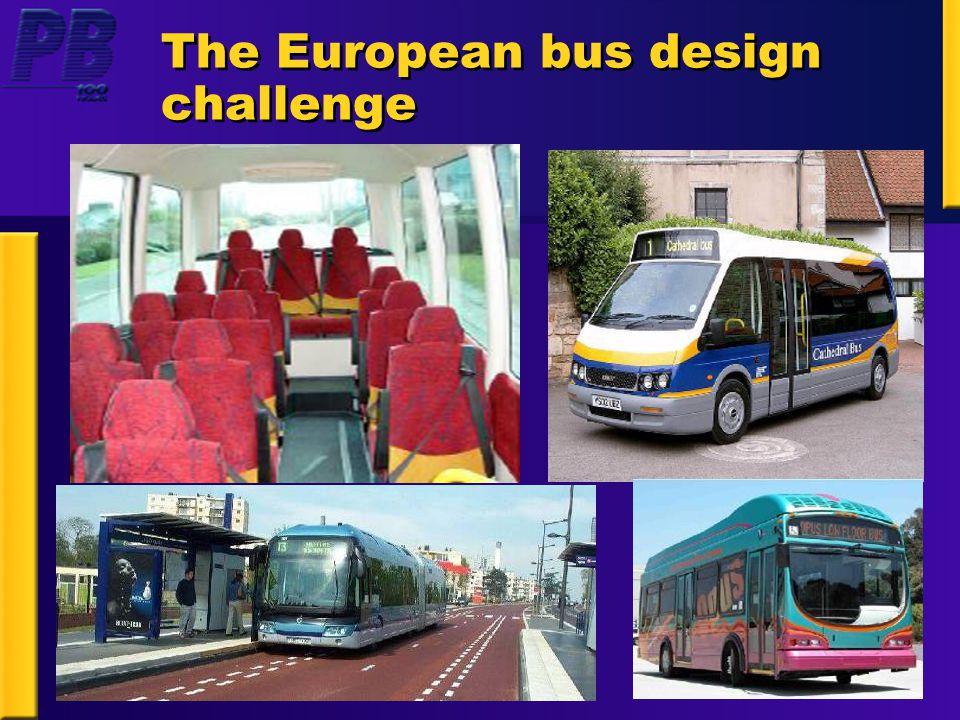The European bus design challenge
