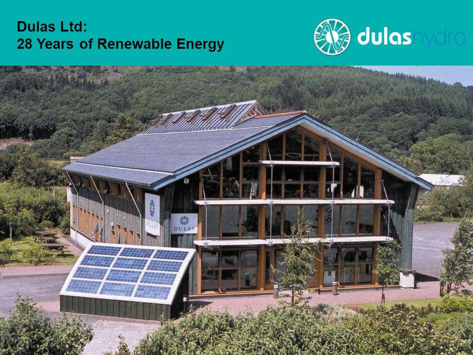 Dulas Ltd: 28 Years of Renewable Energy