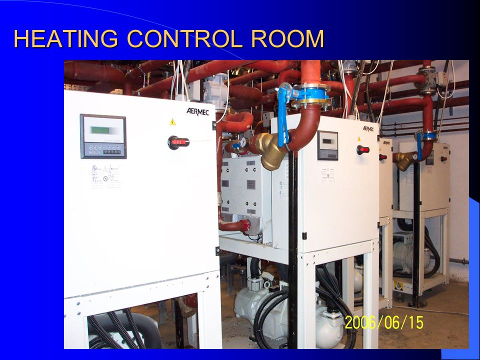 HEATING CONTROL ROOM