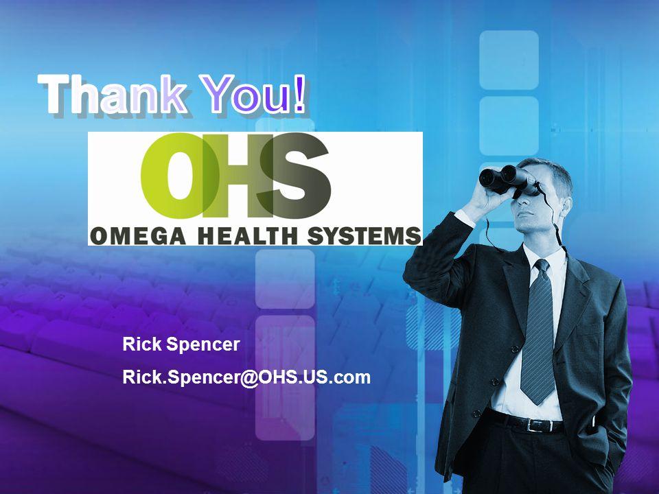 Rick Spencer Rick.Spencer@OHS.US.com
