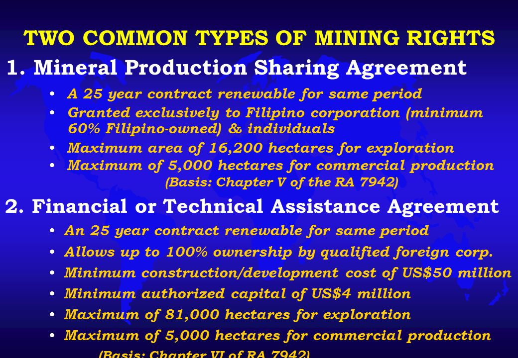 Net Mining Revenue = Gross Output less Deductible Cash Expenses FISCAL REGIME FOR FTAA...