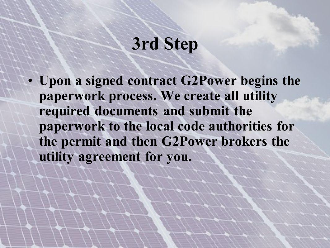 3rd Step Example: Ameren Missouri Netmeter agreement and permits