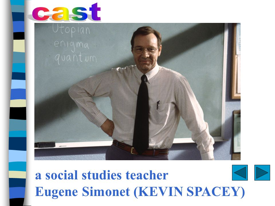 Everything in social studies teacher Eugene Simonet's life is in order — every shirt, every pencil, every person in its proper place.
