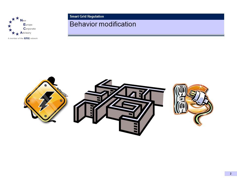 2 Smart Grid Regulation Behavior modification