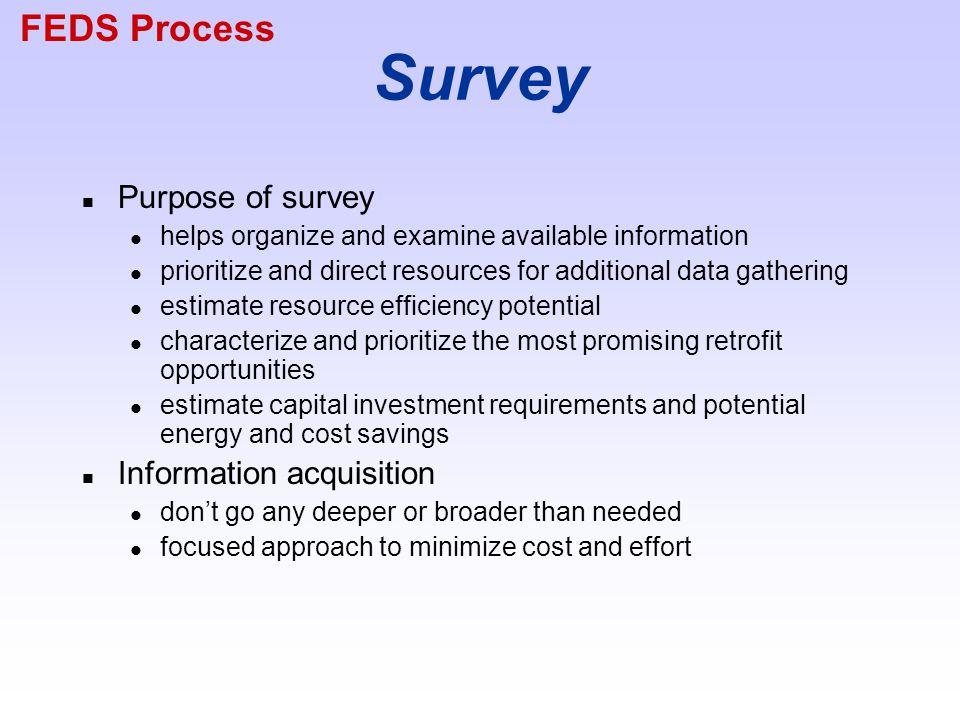 FEDS Process