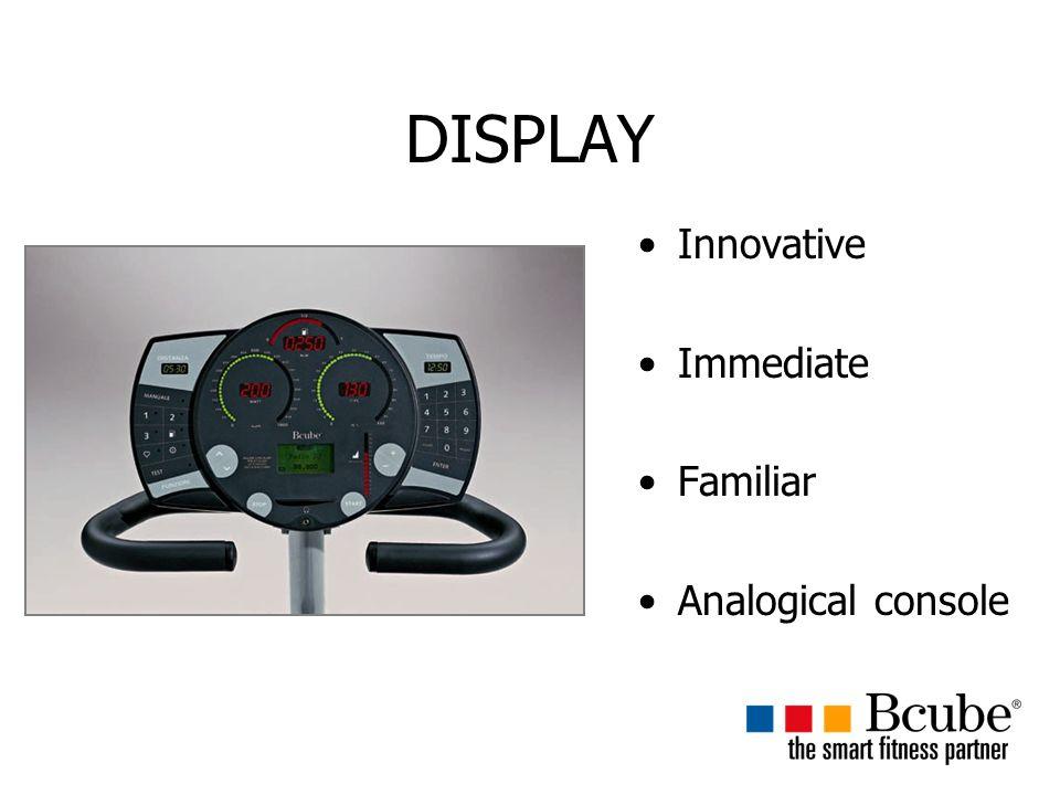 DISPLAY Innovative Immediate Familiar Analogical console