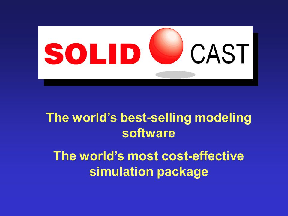 The world's best-selling modeling software The world's most cost-effective simulation package