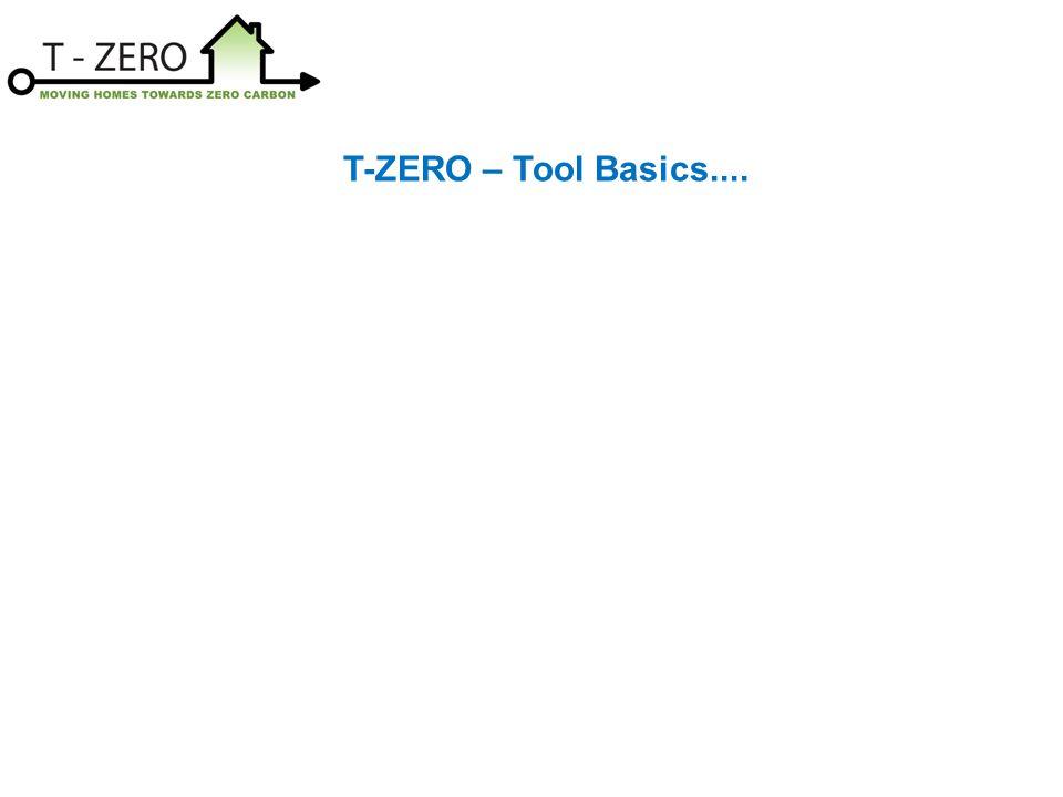 T-ZERO – Tool Basics....