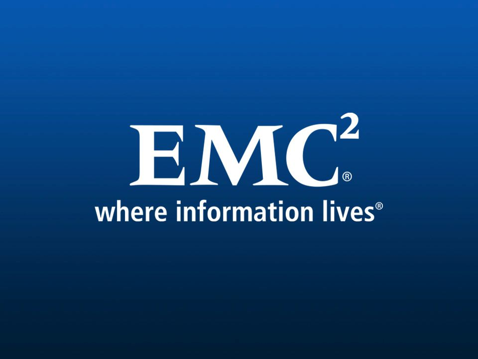 49 EMC CONFIDENTIAL—INTERNAL USE ONLY