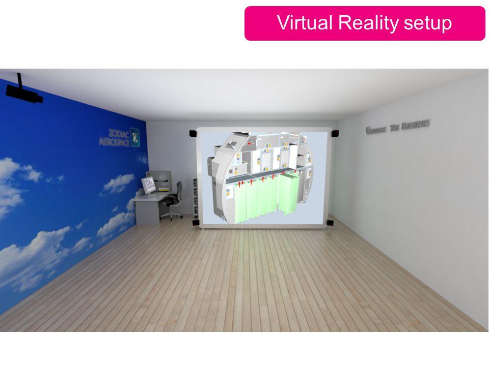 Virtual Reality setup