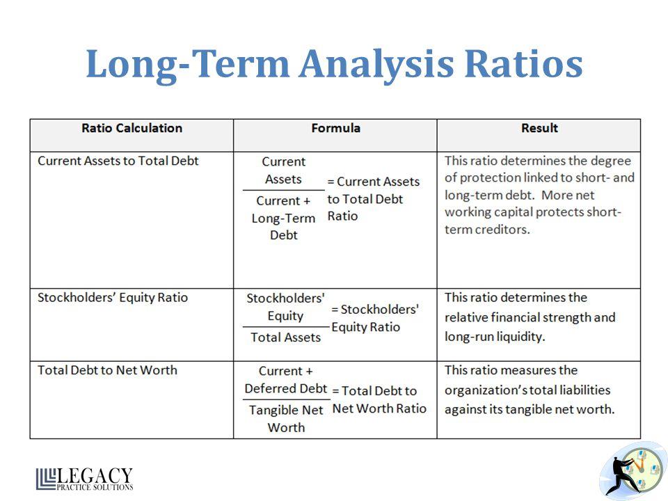 Long-Term Analysis Ratios