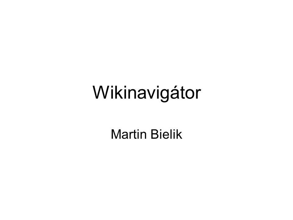 Wikinavigátor Martin Bielik