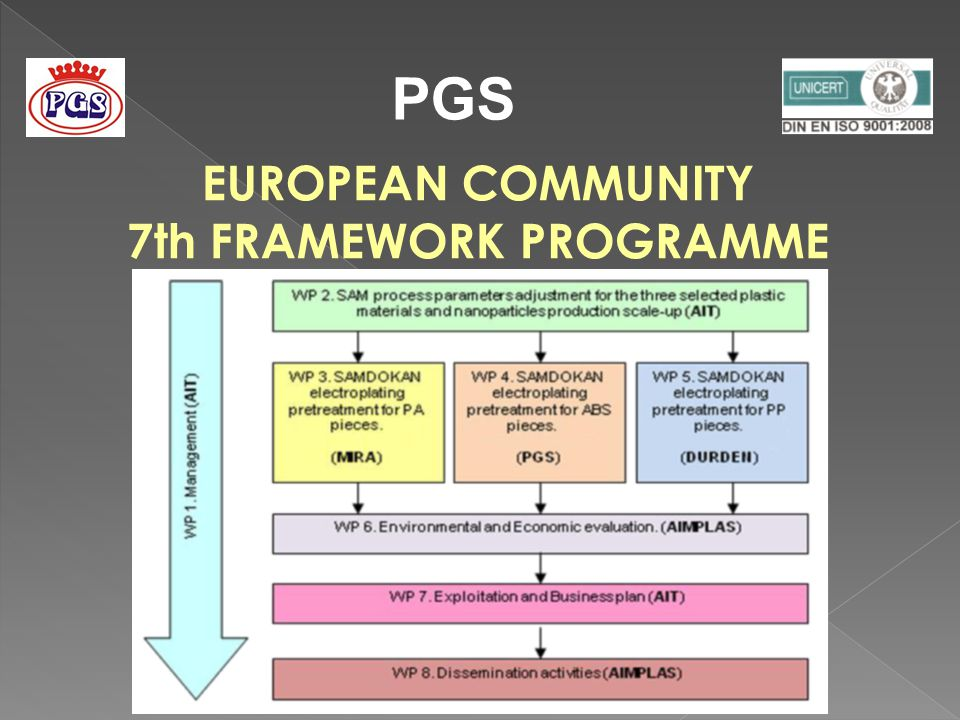 PGS EUROPEAN COMMUNITY 7th FRAMEWORK PROGRAMME