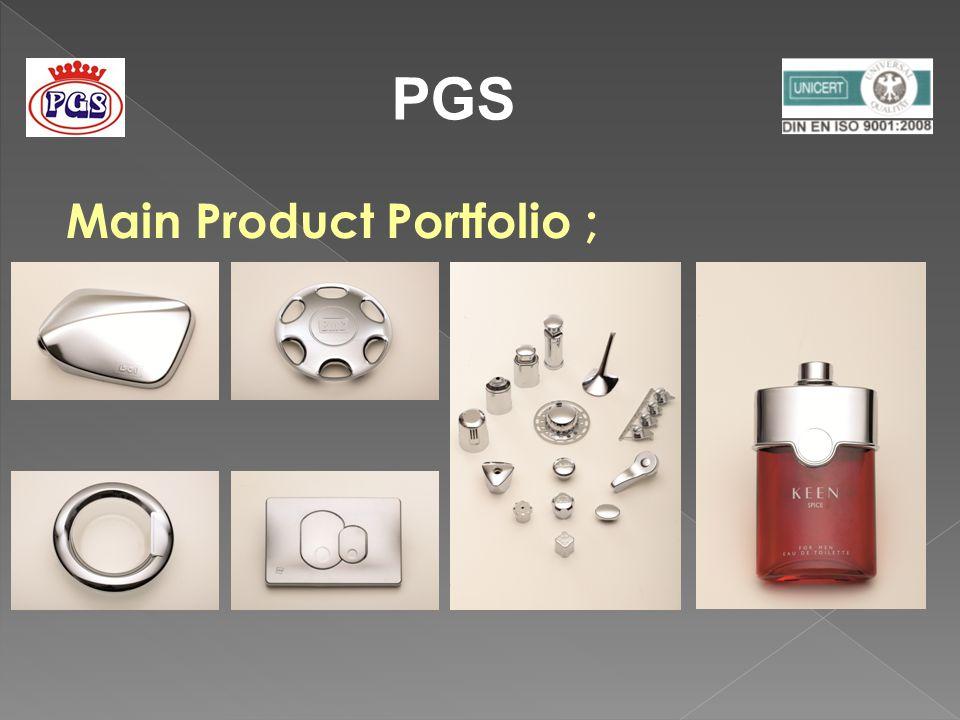 Main Product Portfolio ;