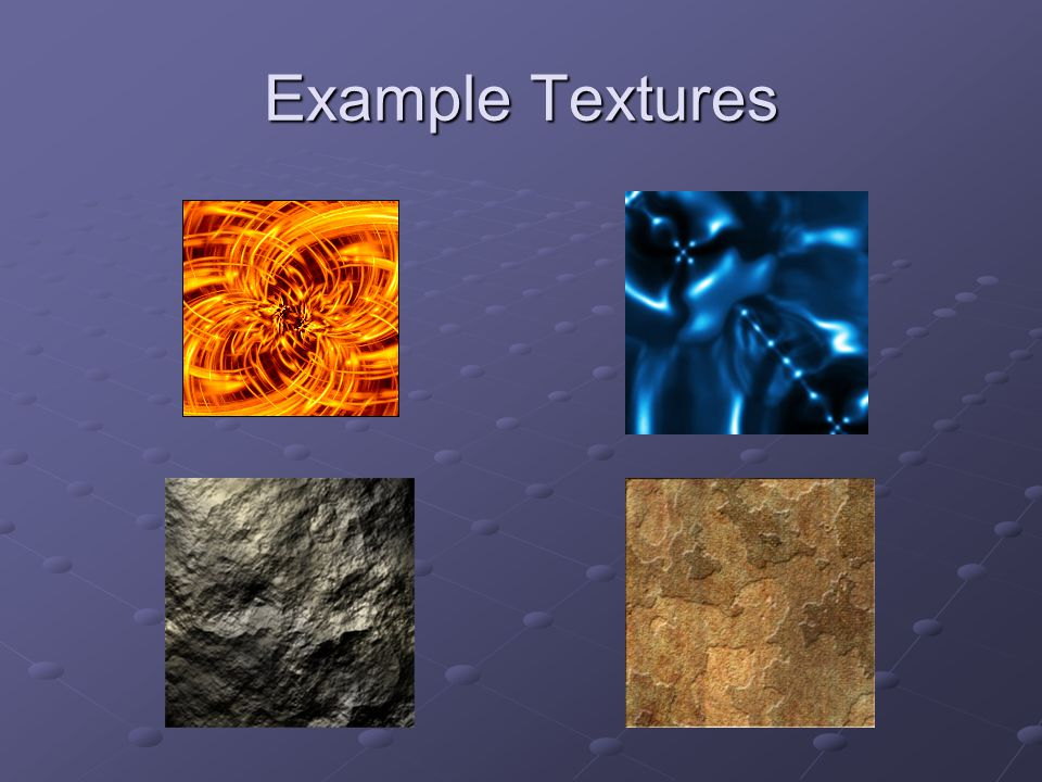 Example Textures