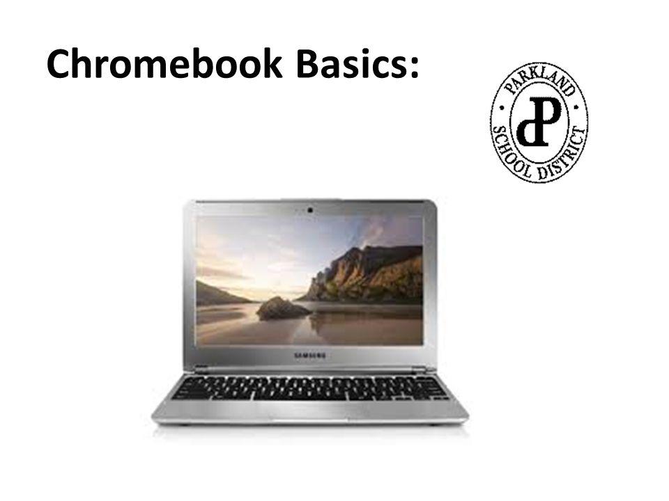 Chromebook Basics: