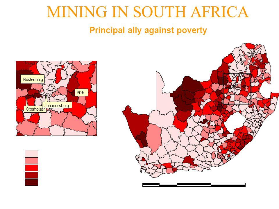 MINING IN SOUTH AFRICA Kriel Rustenburg Oberholzer Johannesburg