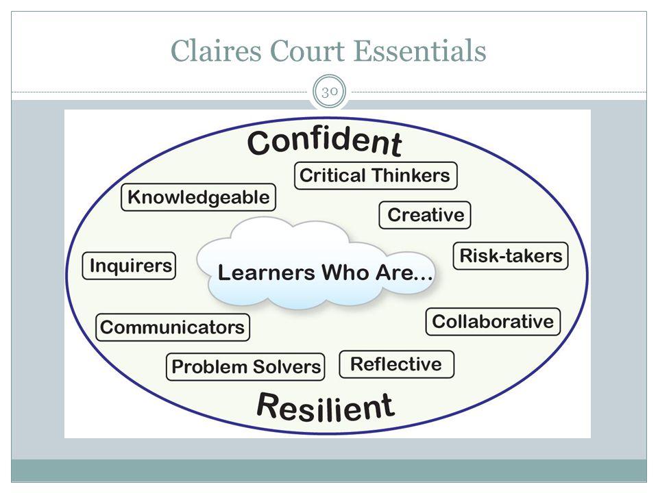Claires Court Essentials 30