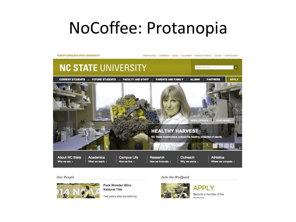 NoCoffee: Protanopia