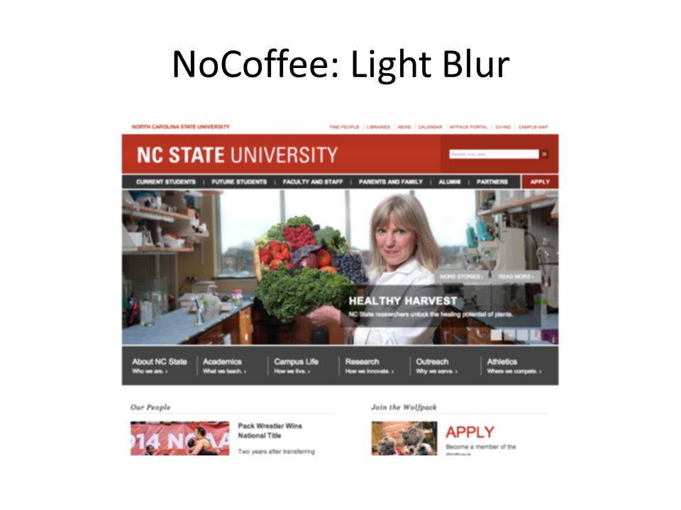 NoCoffee: Light Blur